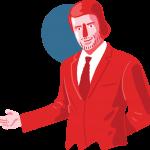 [可商用]免版权手绘职场女性男性卡通人物场景插画素材 B_cherry插图12