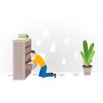 [可商用]手绘卡通职业人物生活场景工作旅游插画设计素材B_fogg插图11