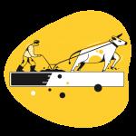 [可商用]黄色脑洞大开创意手绘卡通人物生活场景插画B_taxi插图26
