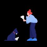[可商用]手绘卡通职场教育人物家庭场景设计素材B_clip插图21