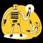 [可商用]黄色脑洞大开创意手绘卡通人物生活场景插画B_taxi插图3