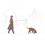 [可商用]手绘卡通职业人物生活场景工作旅游插画设计素材B_fogg插图10