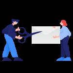 [可商用]手绘卡通职场教育人物家庭场景设计素材B_clip插图22