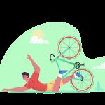 [ 可商用]免版权卡手绘卡通人物工作生活场景插画设计素材B_pale插图3