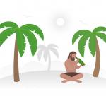 [可商用]手绘卡通职业人物生活场景工作旅游插画设计素材B_fogg插图18