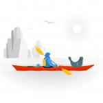 [可商用]手绘卡通职业人物生活场景工作旅游插画设计素材B_fogg插图8