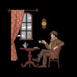 [可商用]手绘卡通职场女人男人快递员科学家旅行家庭人物设计素材 B_eastwood插图17