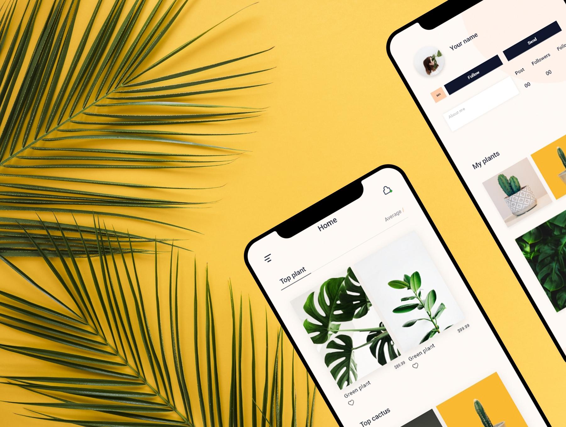 极简主义时尚app设计iOS Ui APP UI KIT套装下载[XD] Silvana UI Kit