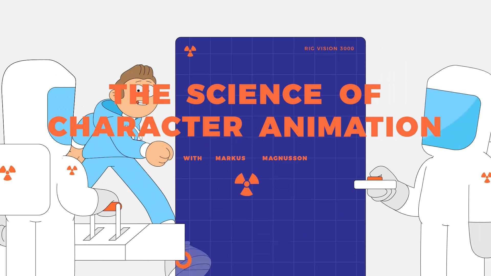 【终身会员专享】AE 角色动画动作设计学习教程 Motion Design School Science of Character Animation