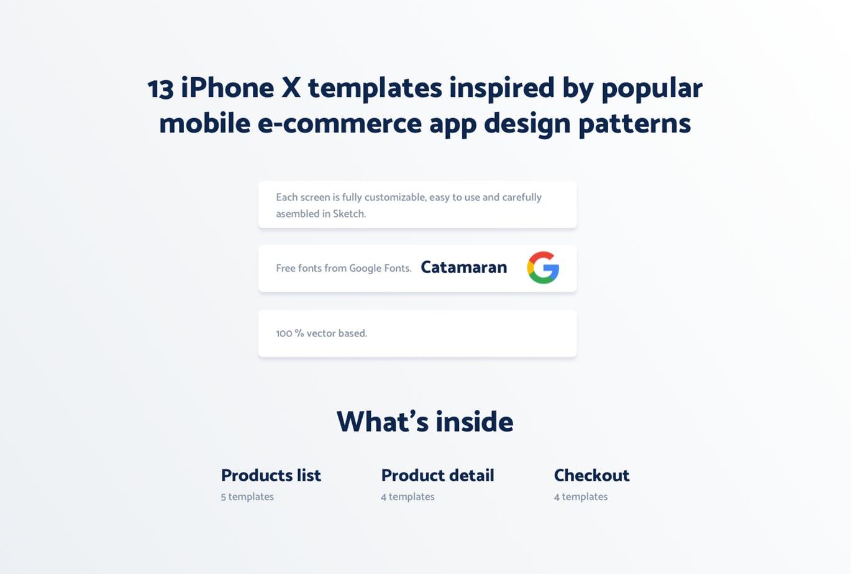 时尚高端的高品质电子商务APP UI设计 KITS简约多用途电商设计[sketch] spojeeto-e-commerce-mobile-app-ui-kit