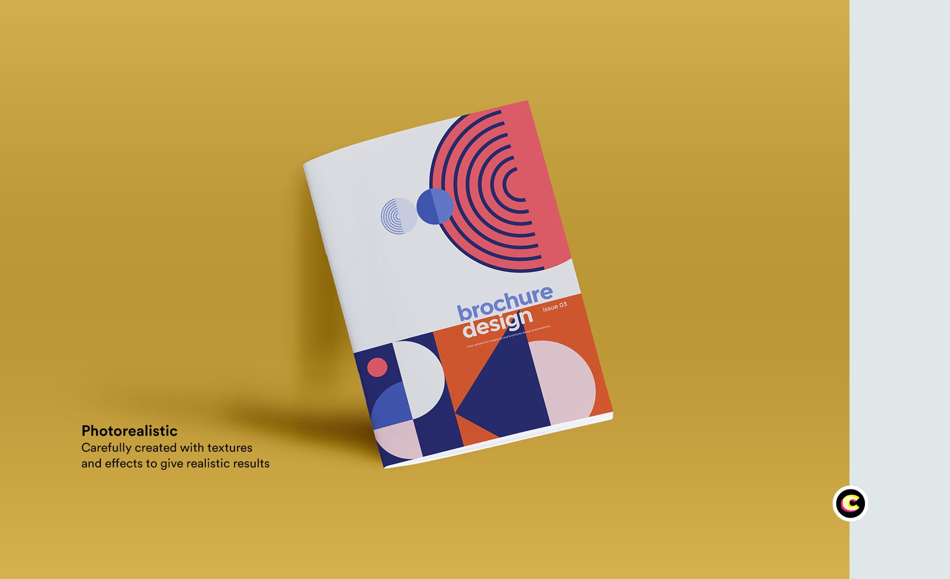 时尚的几何约画册样机素材下载brochure-mockup-A7U98G8