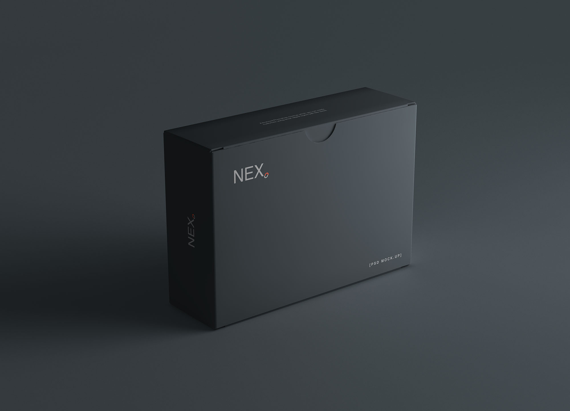 时尚高端专业的高品质商业商务房地产名片设计VI样机展示模型mockups Card Box Mockup