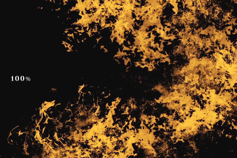 20个逼真的火焰覆盖图层照片底纹纹理集合 fire-overlays