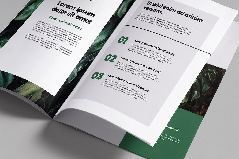 时尚高端好用的多角度品牌手册画册宣传册房地产楼书杂志样机展示模型mockups  brochure-magazine-mockups