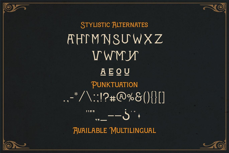 时尚高端欧式奢华勇者斗恶龙英文字体  porous-stone-3d-letters
