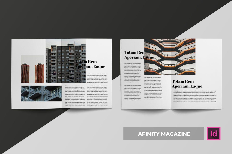 大图建筑设计介绍画册或杂志模板下载(indd)afinity-magazine-template-4ZYET23