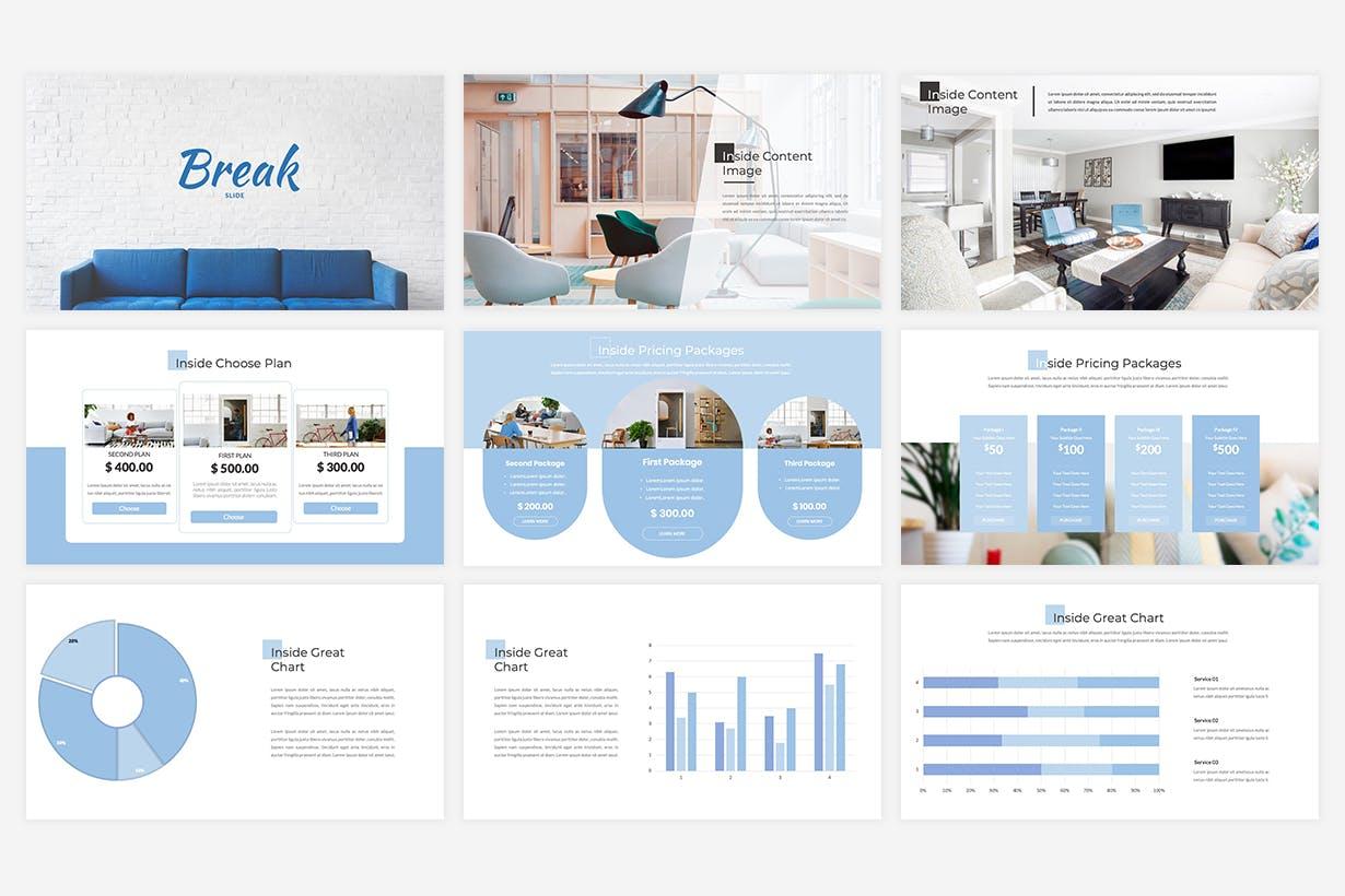 室内设计介绍PPT模板下载(PPTX) inside-interior-powerpoint-template-PRNBYDQ