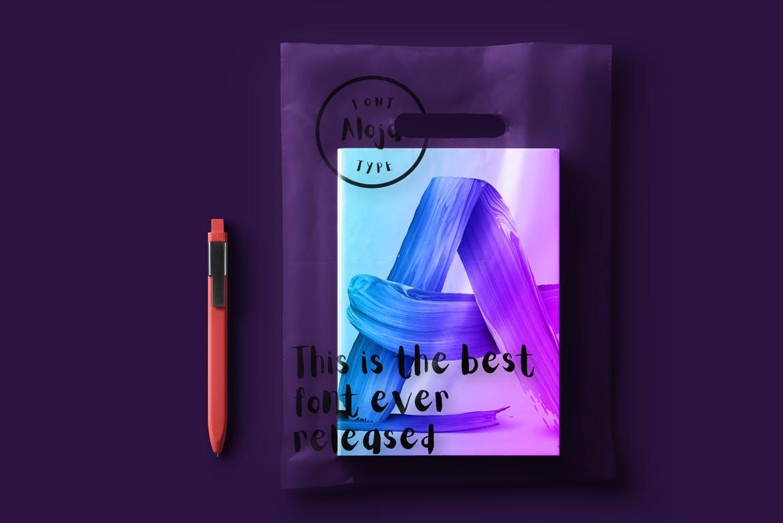 闪耀的多彩画笔图案水彩背景纹理Paint Brush Strokes