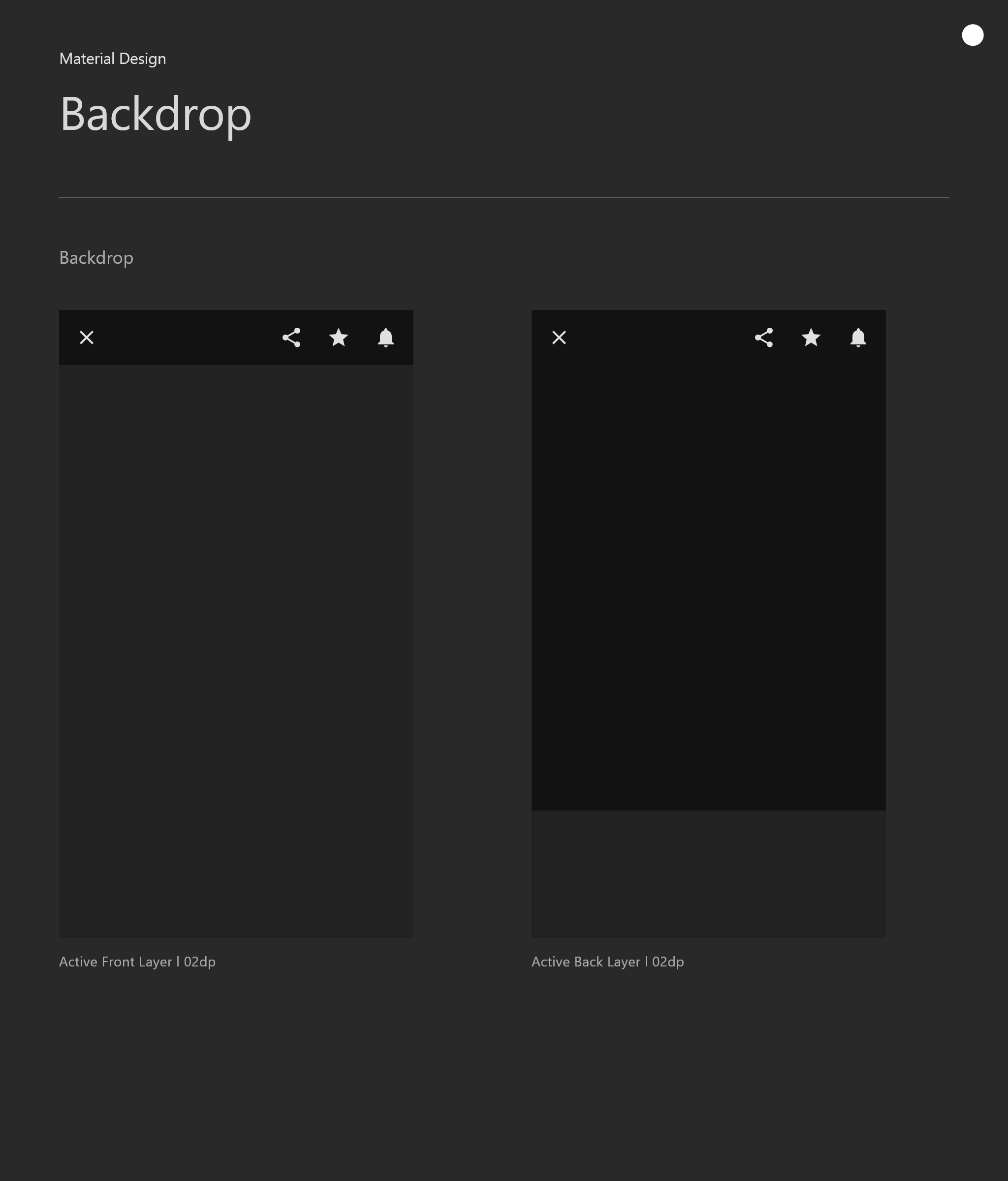 谷歌安卓 Android深色主题设计规范google ui深色模式