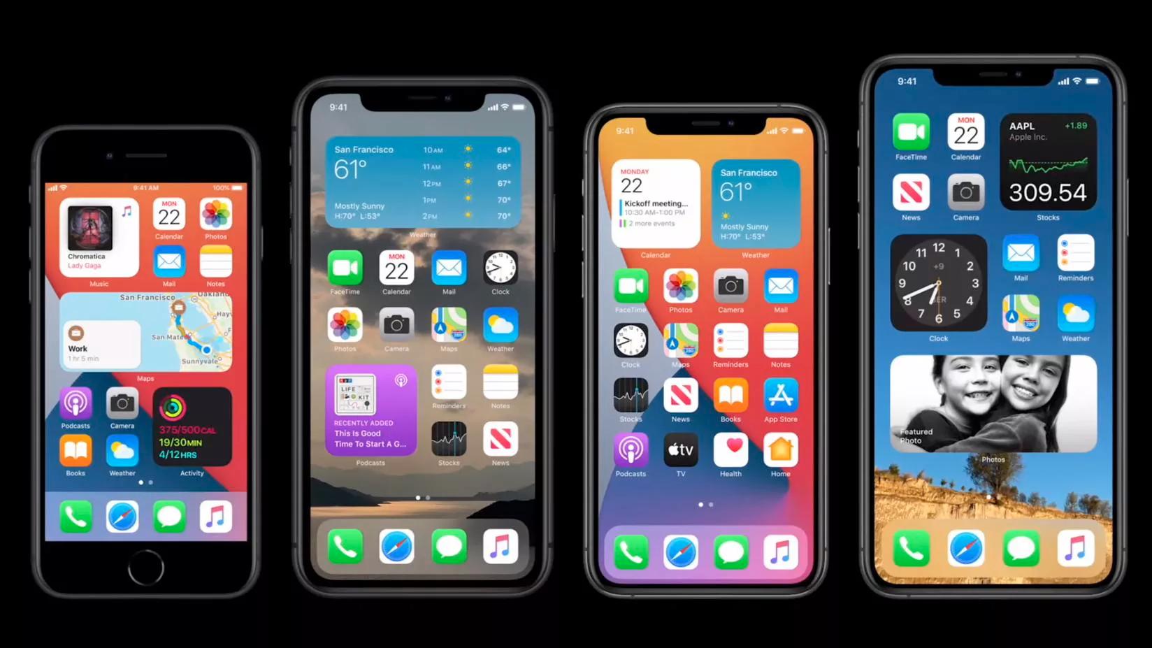 全新的 iOS 14 小组件官方设计指南