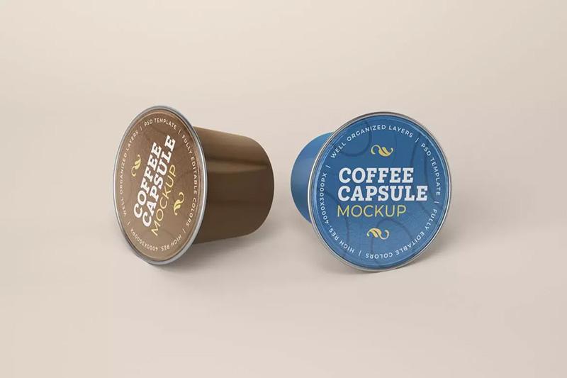 果冻咖啡品牌包装设计预览咖啡胶囊样机 Designshidai_com_yj_baozhen04
