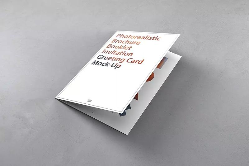产品目录/小册子/邀请函设计样机模板designshidai_yj52
