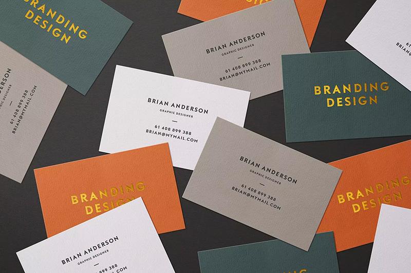 零散堆放名片设计展示样机模板 Scattered Business Cards Mockup designshidai_yj95