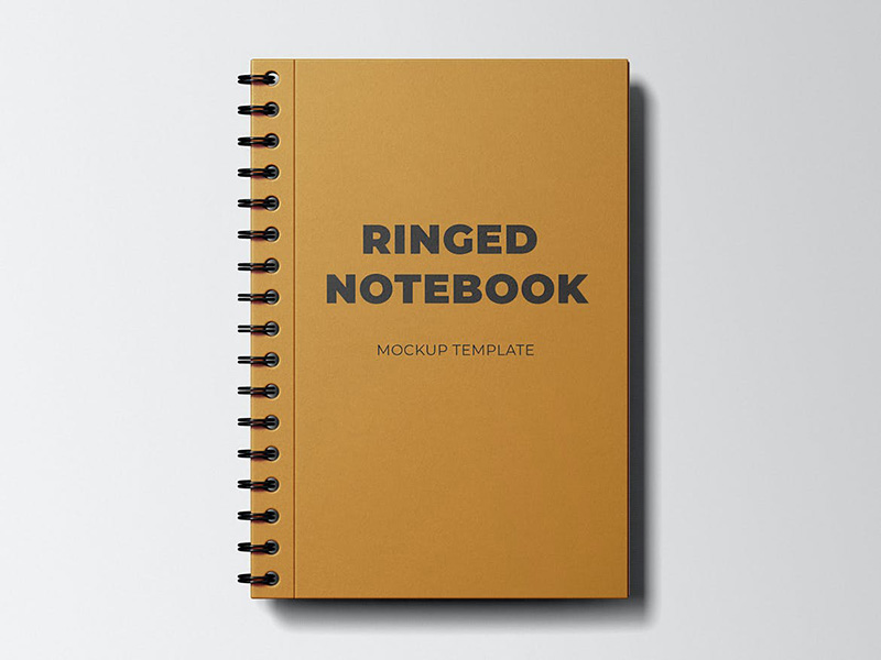 活页笔记本外观设计图样机模板designshidai_yj210