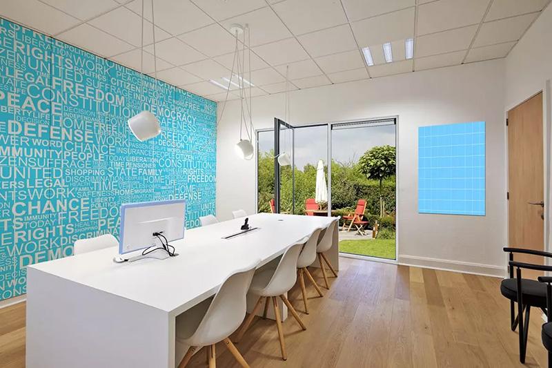 现代化的企业办公室场景设计效果图样机designshidai_yj20