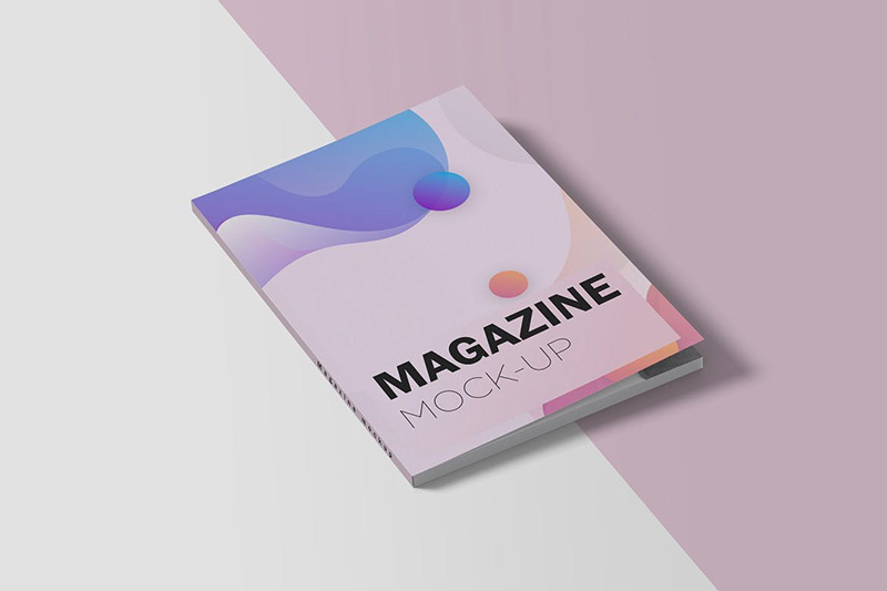 杂志封面设计样机模板素材designshidai_yj124