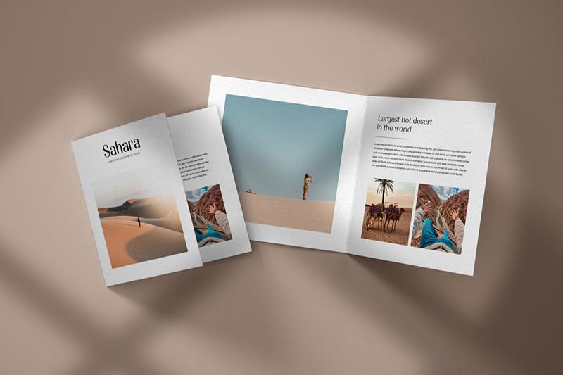 方形双折页传单效果预览模板designshidai_yj156