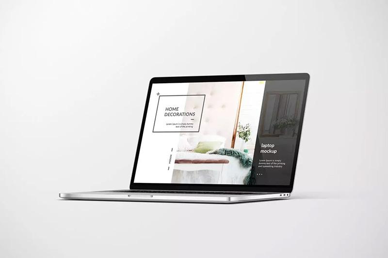 笔记本电脑屏幕展示样机模板designshidai_yj172