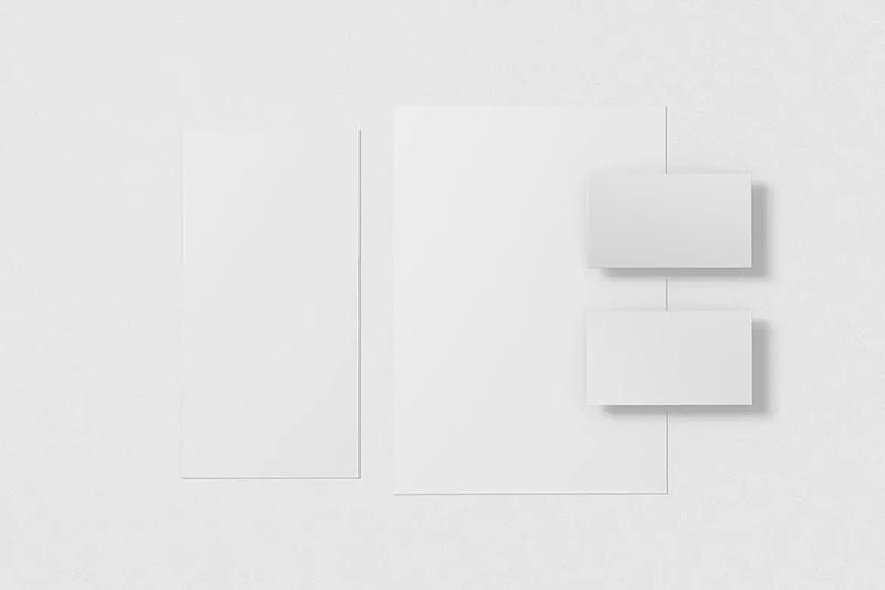 优雅的办公文具组合样机模板designshidai_yj162