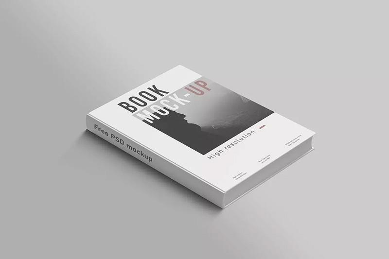精装书籍图书封面设计效果样机模板designshidai_yj89