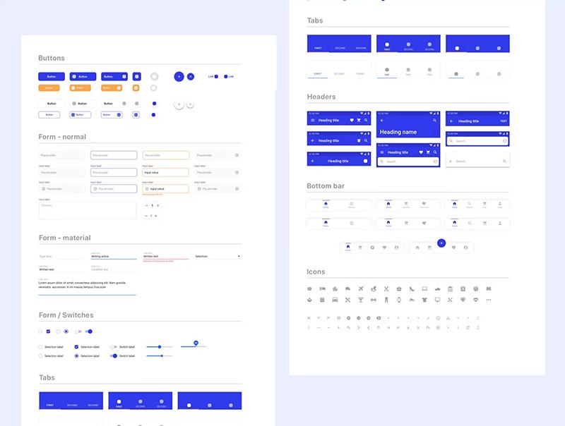 电子商务APP移动用户界面UI设计套件designshidai_ui71