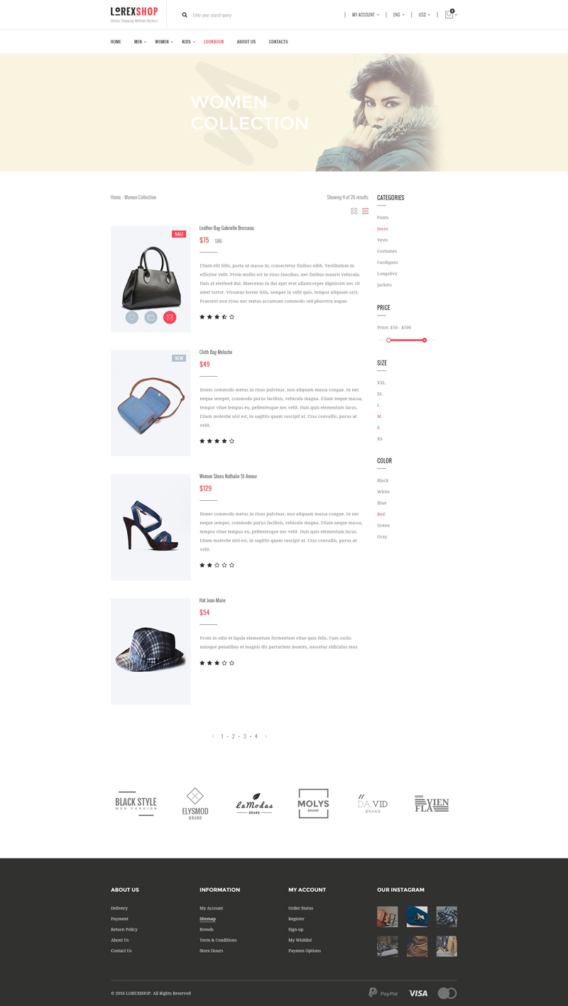淘宝电商网页模板designshidai_ui91