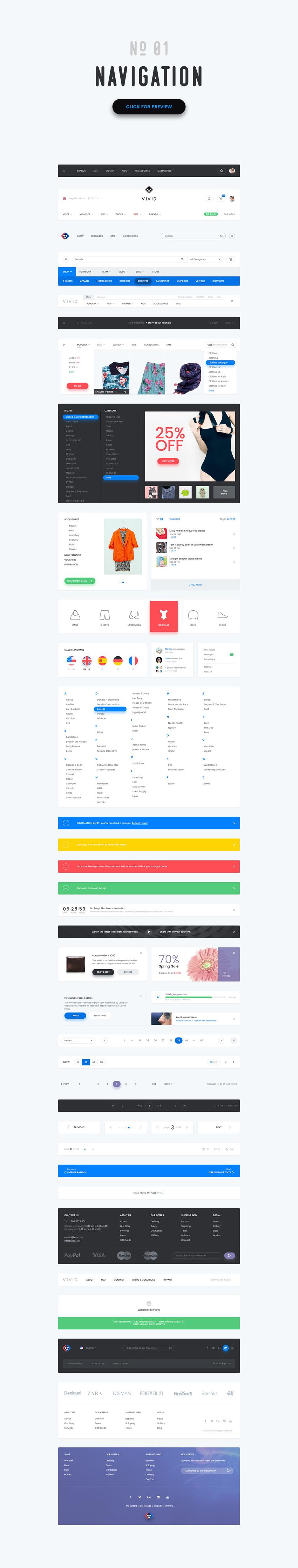 万用网页 UI designshidai_ui94