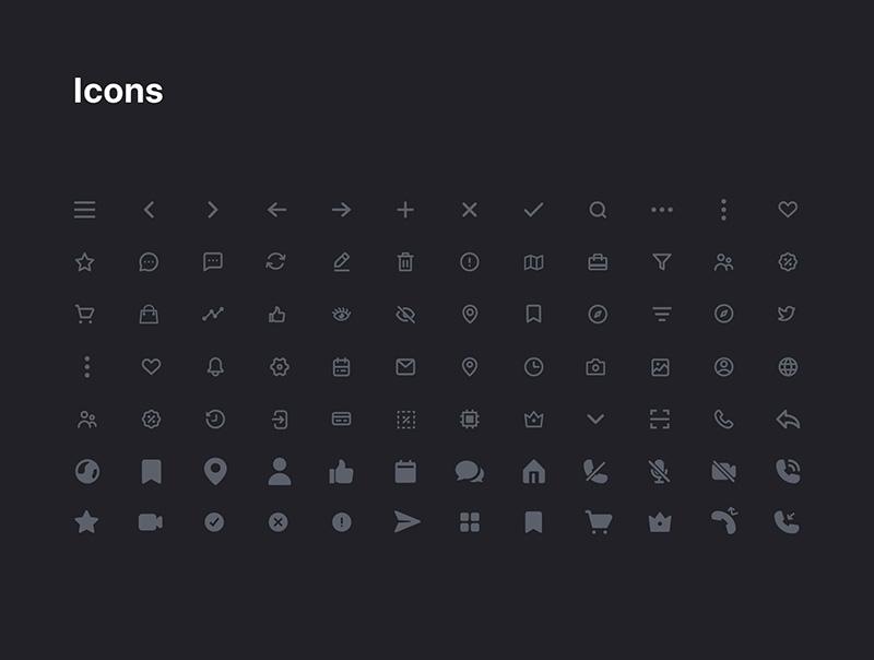 美发沙龙APP应用UI设计套件designshidai_ui15