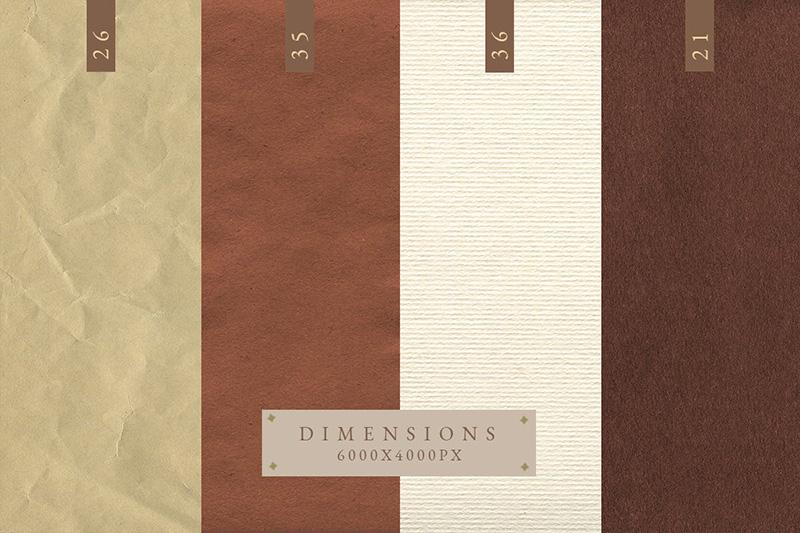 多用途复古粗糙奶油色纸张纹理装饰designshidai_beijing10
