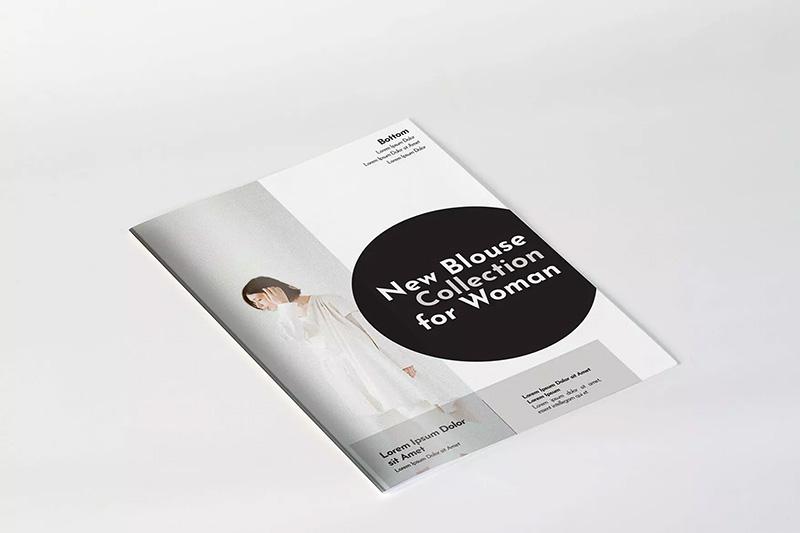 A4产品杂志画册内页版式设计样机模板 A4 Magazine Mockup designshidai_yj343
