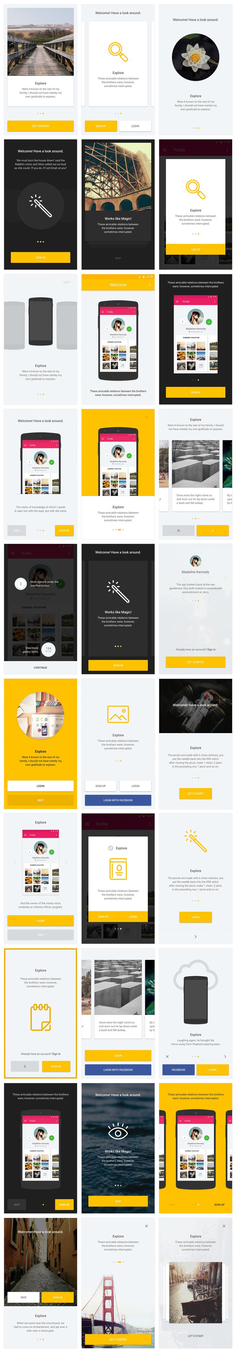 App网页UI设计模板designshidai_ui88