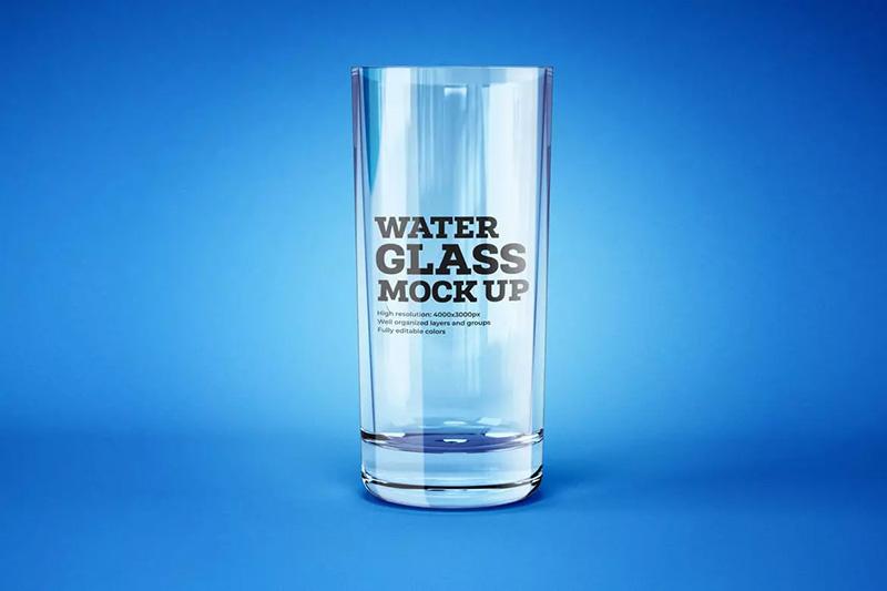 多款不同形状的酒精饮料玻璃杯模板合集designshidai_yj353