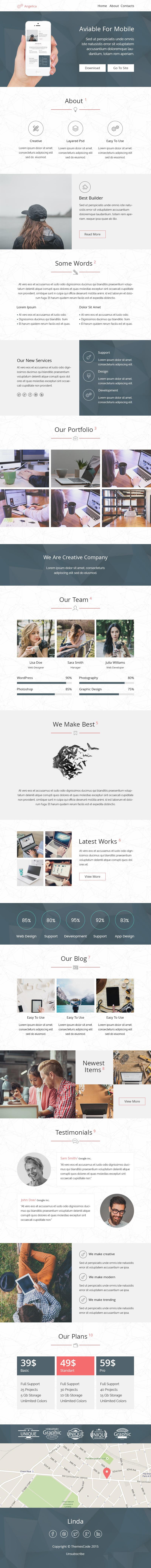 多款网页 UI模板designshidai_ui95