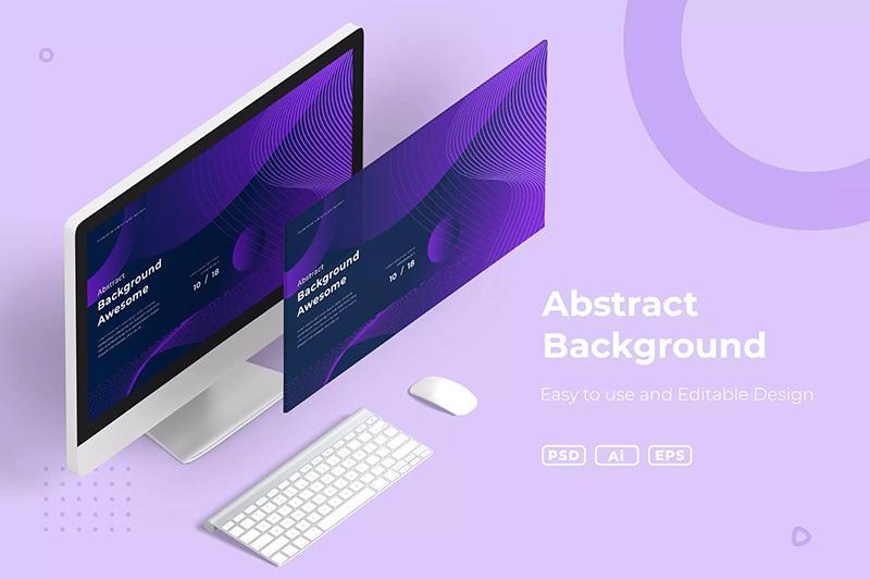 网站页面UI设计抽象背景图素材designshidai_beijing04