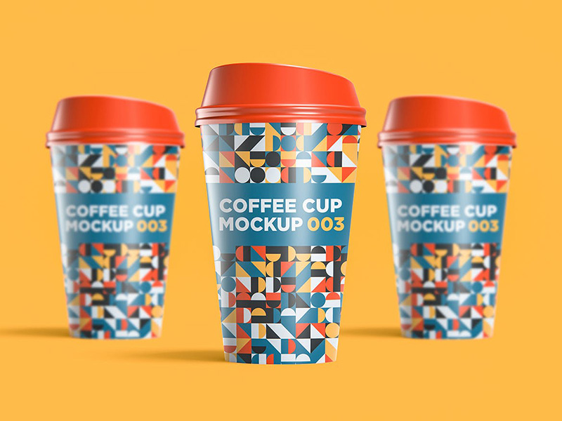 咖啡杯图案设计效果图样机模板designshidai_yj331