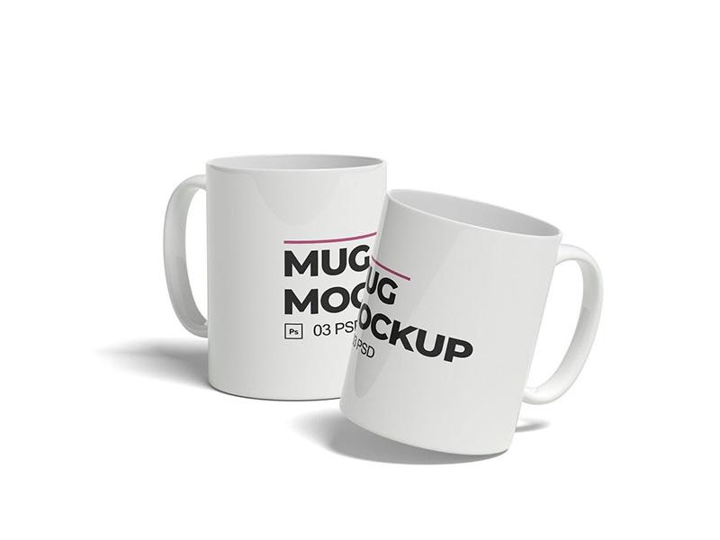 马克杯外观设计预览样机模板 Mug Mockup designshidai_yj351