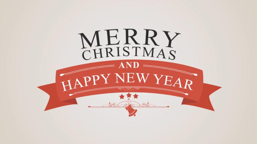 圣诞节/新年徽章Logo演示视频ae素材designshidai_video0037
