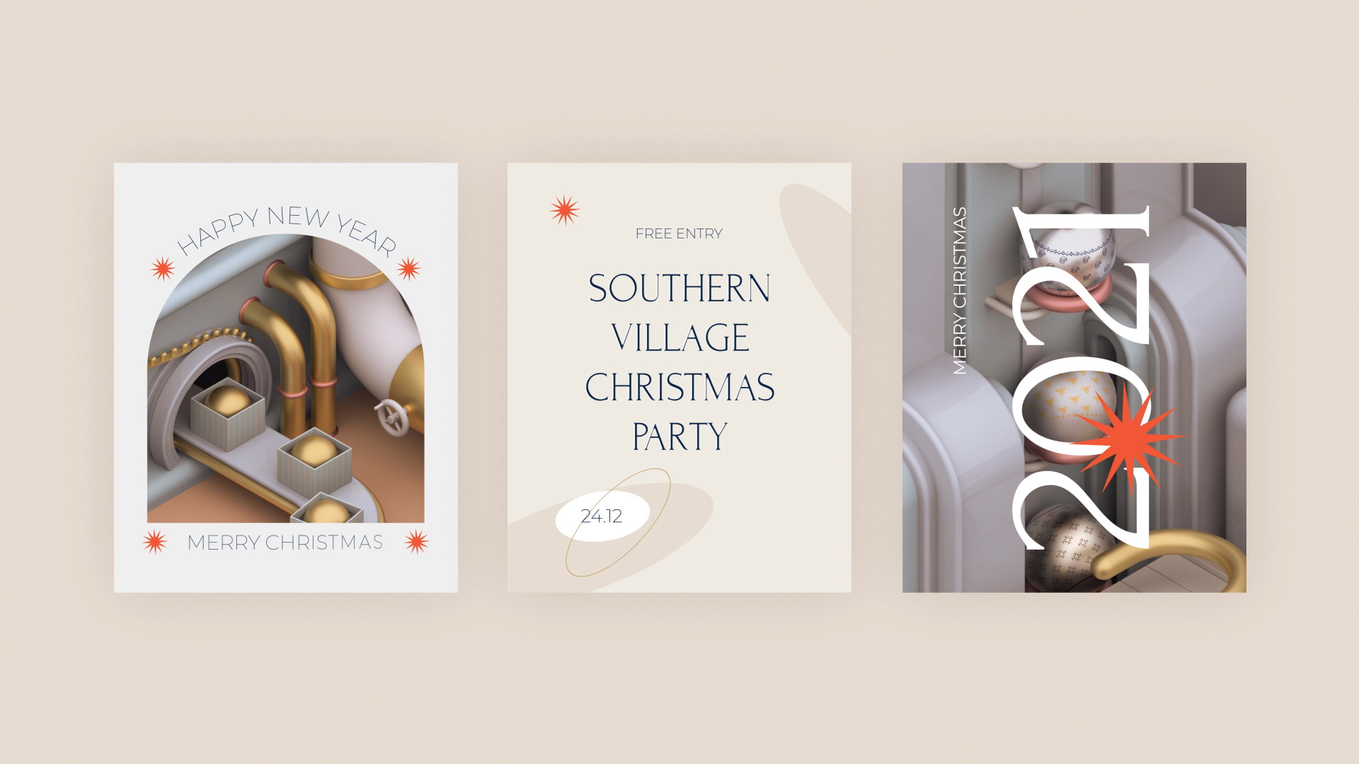 3D场景圣诞工厂Instagram视频ae素材包designshidai_video0025