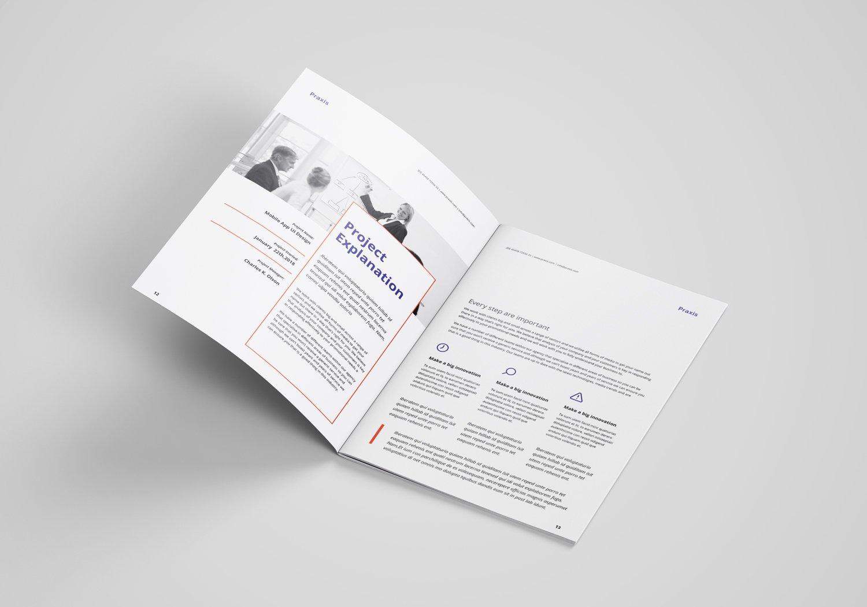 专业现代的企业提案/商业计划书设计模板designshidai_zazhi040