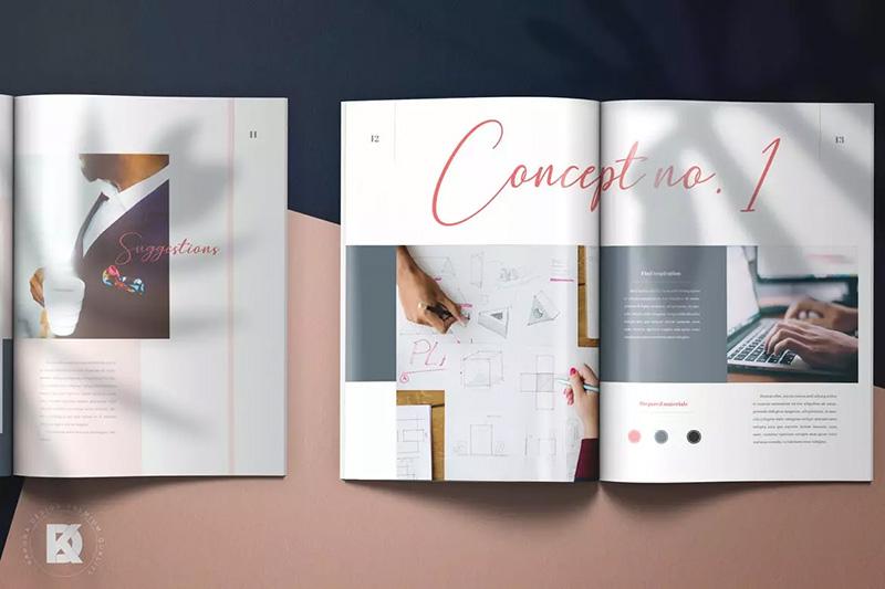 创意工作室项目议案项目提案设计模板designshidai_zazhi012
